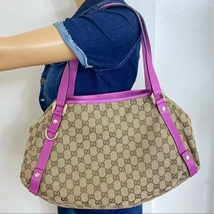 🌺BEAUTIFUL🌺 PINK GUCCI HOBO STYLE